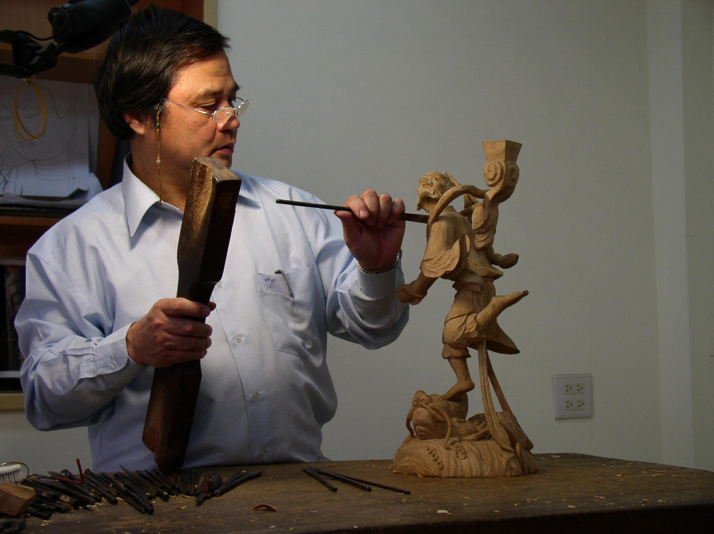 傳統木雕 (李秉圭)